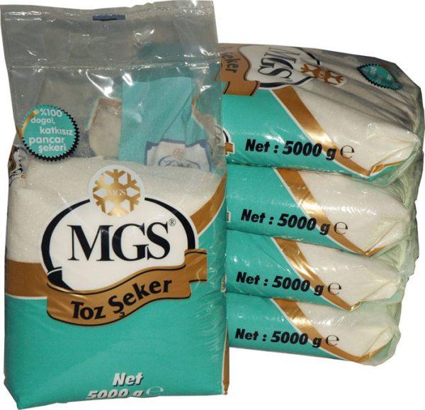 5 Kg Mgs Toz Şeker