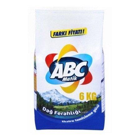 Abc Matik Beyazlar İçin Toz Deterjan 6Kg