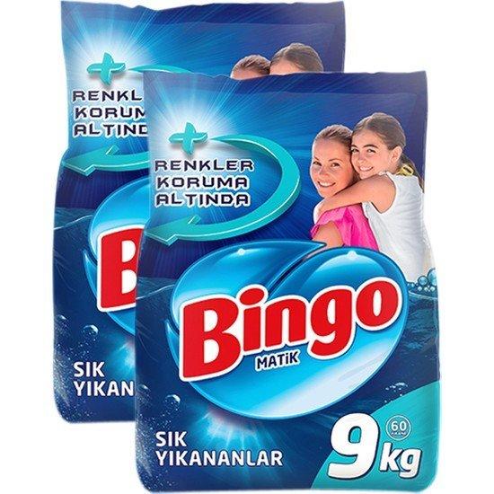Bingo Toz Deterjan 9 Kg