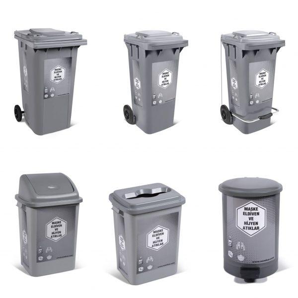 Tıbbi Atık çöp Kovaları